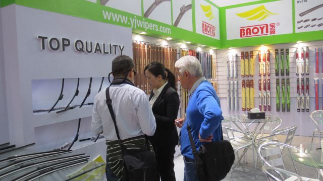 BAOYI wiper blade in the Automechanika Shanghai 2014