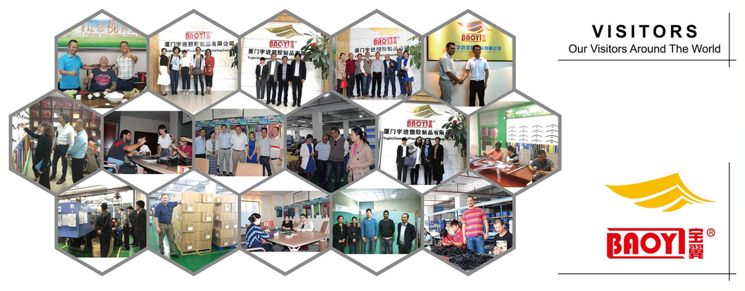 Customers Visit our BAOYI Wiper Blade Factory